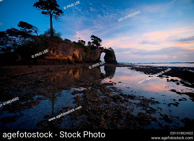 Cliffs Natural Bridge Andaman Island