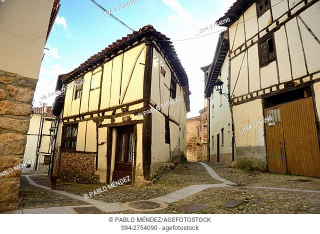 Rustic corner of Covarrubias, Burgos, España