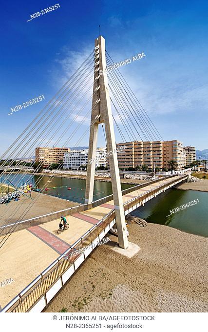 Seafront promenade, Fuengirola, Malaga province, Andalusia, Spain