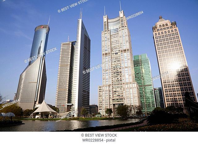 Lujiazui,Shanghai