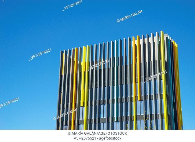 Nave Boetticher. Madrid Innovation Campus, Villaverde district, Madrid, Spain