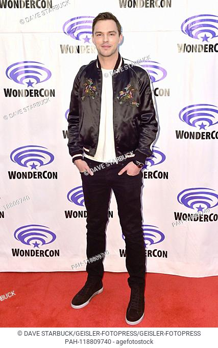 Nicholas Hoult at the Photocall for the movie 'Tolkien' at WonderCon 2019 at the Anaheim Convention Center. Anaheim, 29.03.2019   usage worldwide