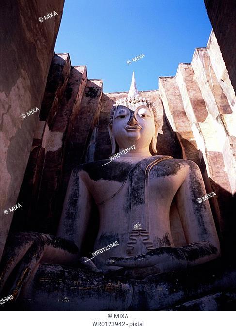 Old Ruins in Sukhothai, Thailand