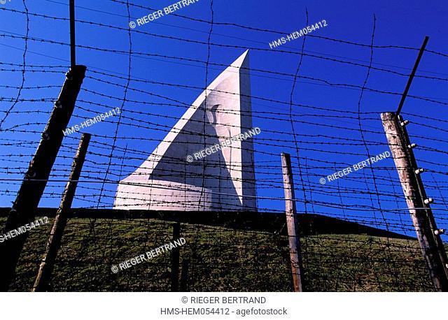 France, Bas Rhin, concentration camp Struthof Natzwiller memorial of deportation