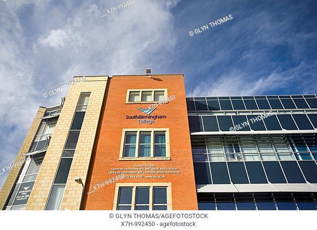 South Birmingham College, Birmingham, West Midlands, England