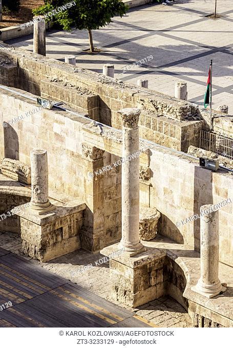 Roman Theater, Amman, Amman Governorate, Jordan