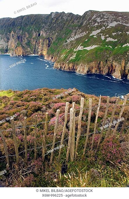 Slieve League sea cliffs  County Donegal  Ireland