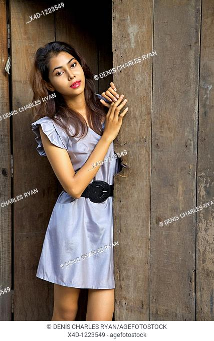 Young woman, Cambodia