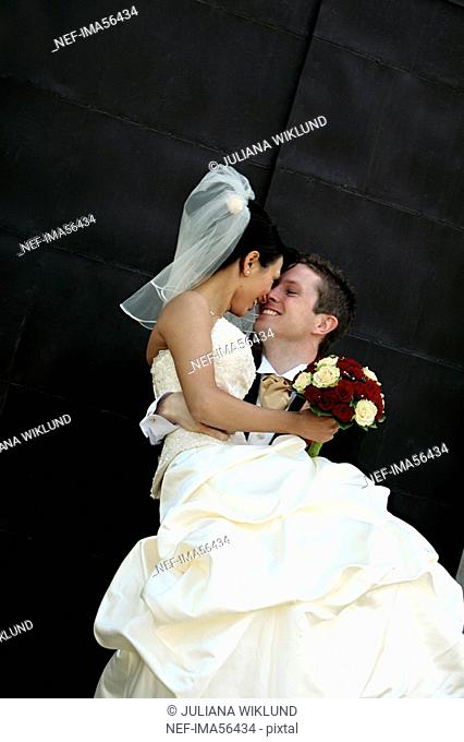 Bride and bridegroom Sweden