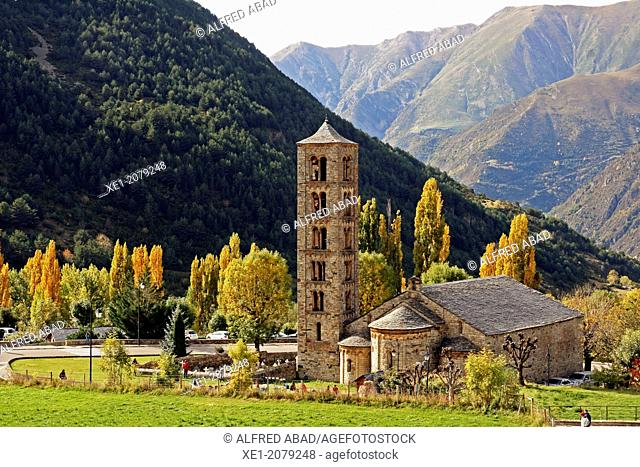 Romanesque Church of Sant Climent, Taüll, Vall de Boi, Pyrenees Mountains, Catalonia, Spain