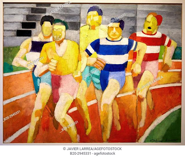 Les Coureurs, 1924, Robert Delaunay, Musée d'Art Moderne, Troyes, Champagne-Ardenne Region, Aube Department, France, Europe
