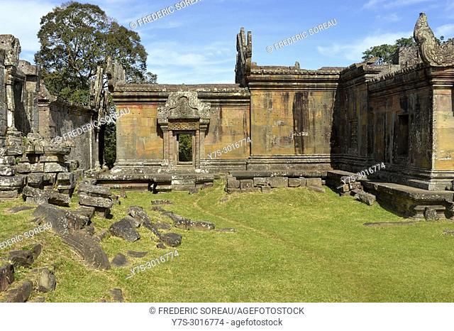 Prasat Preah Vihear temple ruins, UNESCO World Heritage Site, Preah Vihear Province, Cambodia, South East Asia, Asia