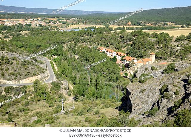 Jump Villalba in Cuenca, Caastilla La Mancha, Spain