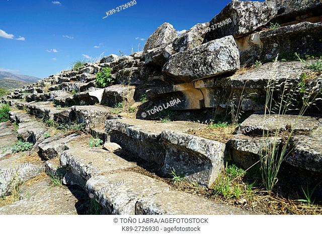 Aphrodisias Stadium. Ancient Greece. Asia Minor. Turkey