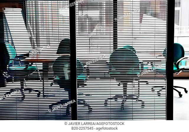 Meeting room. Euskadiko Parke Teknologikoak. Zamudio. Bizkaia. Basque Country. Spain