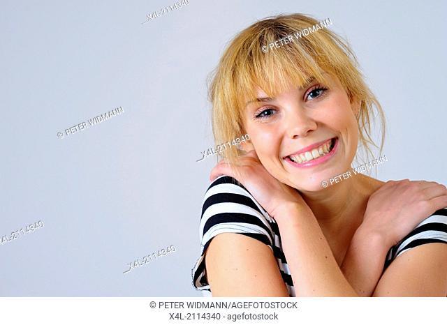 young, beautiful woman, tween (model-released)