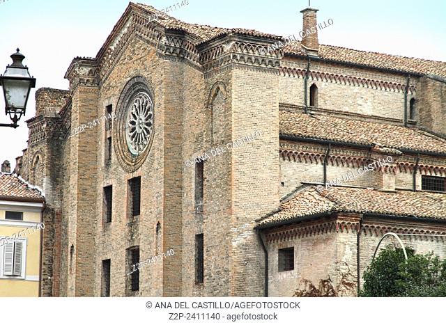 Church of San Francesco del Prato in Parma, Emilia-Romagna, Italy