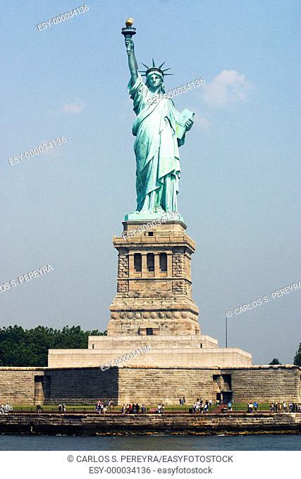 Statue of Liberty. New York City, USA