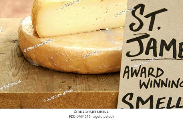 St James prizewinning cheese