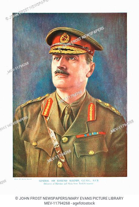 1918 The Great War magazine Part 221 General Sir Edmund Allenby