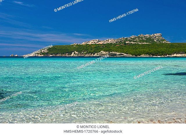 Italy, Sardinia, Province of Olbia-Tempio, Santa Teresa Gallura, Capo Testa