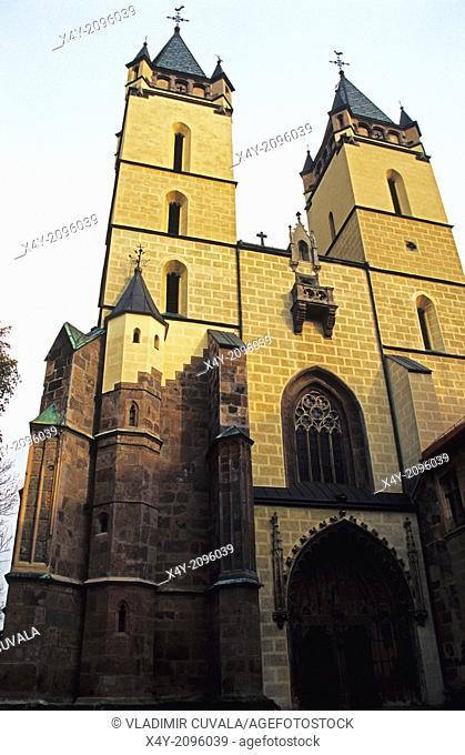 The Benedictine monastery church in Hronsky Benadik, Slovakia