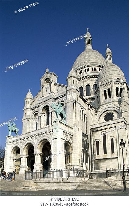 Basilique du sacre coeur, Coeur, France, Europe, Holiday, Landmark, Paris, Sacre, Tourism, Travel, Vacation