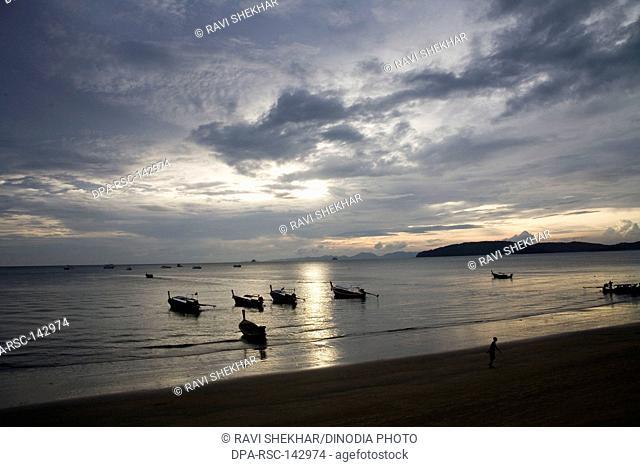 Beach ; Krabi Island ; Thailand