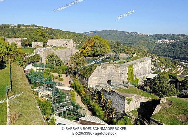 Zoo, Museum of Natural History, La Citadelle, Citadel, fortifications of Vauban, UNESCO World Heritage Site, Besancon, department of Doubs, Franche-Comte