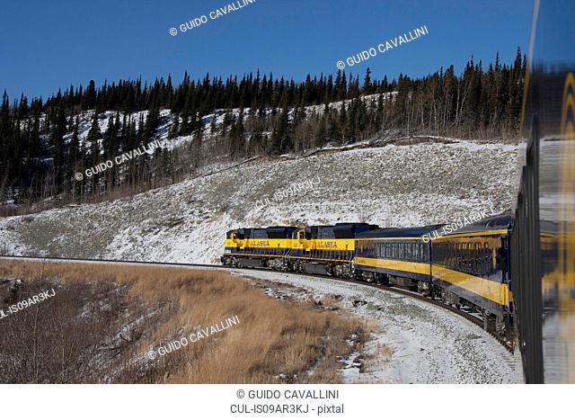 View from train, Fairbanks, Alaska