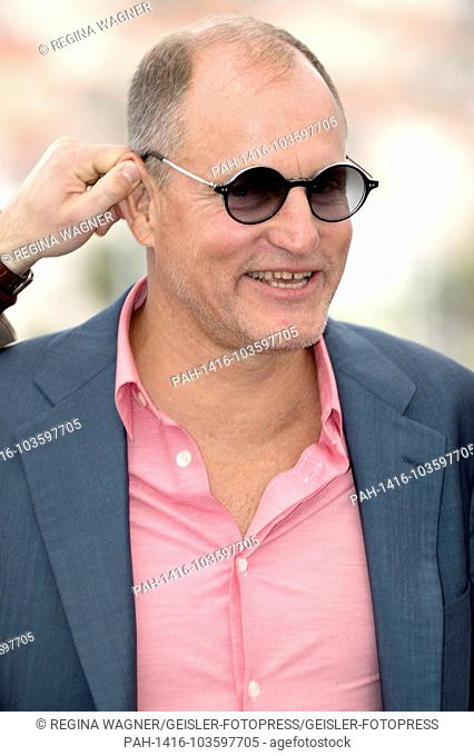 Woody Harrelson at the 'Solo: A Star Wars Story' photocall during the 71st Cannes Film Festival at the Palais des Festivals on May 15, 2018in Cannes