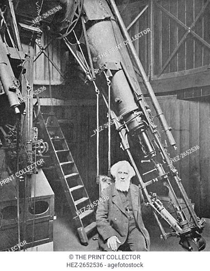 'Observatory of Sir William Huggins, K.C.B., Tulse Hill', 1904. Sir William Huggins OM KCB PRS (1824-1910) was an English astronomer best known for his...