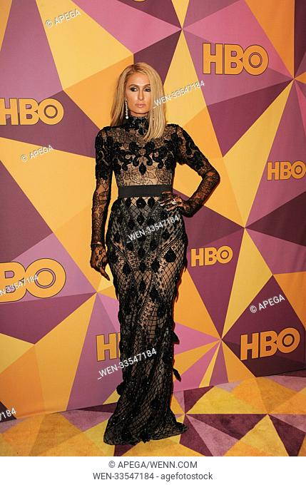 The HBO Golden Globe After Party 2017 Featuring: Paris Hilton Where: Los Angeles, California, United States When: 08 Jan 2018 Credit: Apega/WENN.com