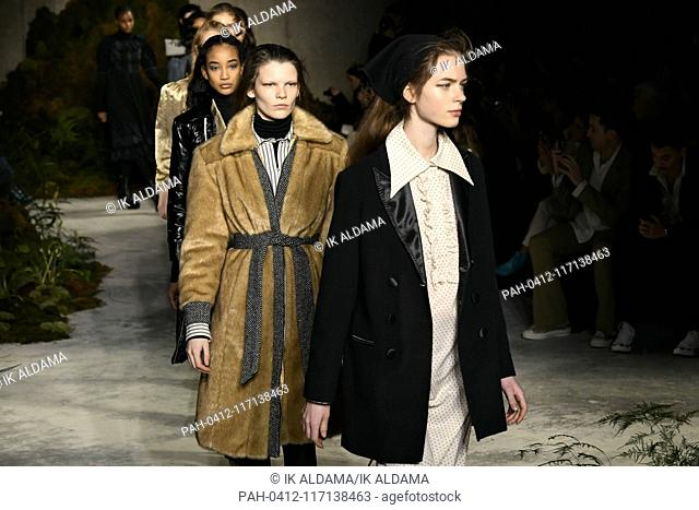 ALEXACHUNG runway show during London Fashion Week, AW19, Autumn Winter 2019 collection - London, UK 16/02/2019   usage worldwide