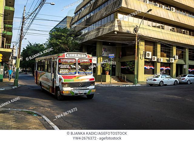 Typical bus, Asuncion, Paraguay