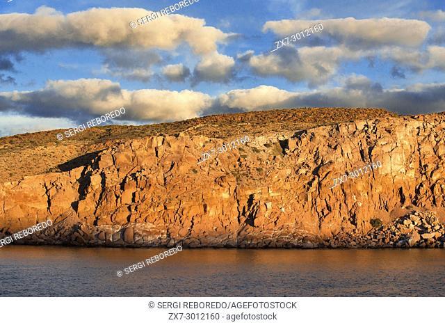 San Francisco island, Sea of Cortes, Baja California Sur, Mexico