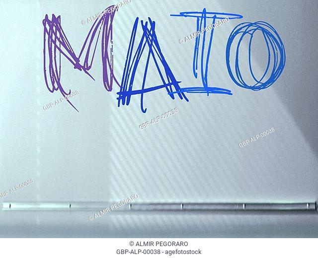 May, letters, graffiti, wall, São Paulo, Brazil