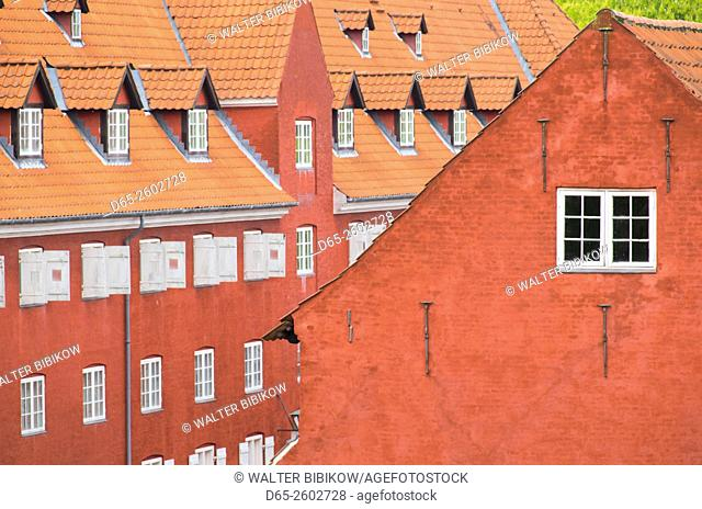Denmark, Zealand, Copenhagen, Kastellet, building of the old fortress
