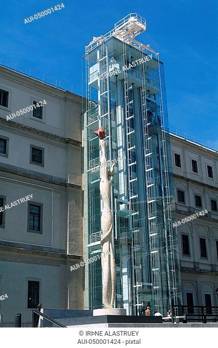 Spain - Madrid - Queen Sofia Art Center - Museum of Modern Art - Centro de Arte Reina Sofia