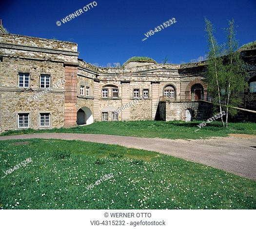 D-Koblenz, Rhine, Moselle, Maifeld, Eifel, Hunsrueck, Westerwald, Rhineland-Palatinate, Ehrenbreitstein Fortress, inner courtyard - Koblenz, Rheinland-Pfalz