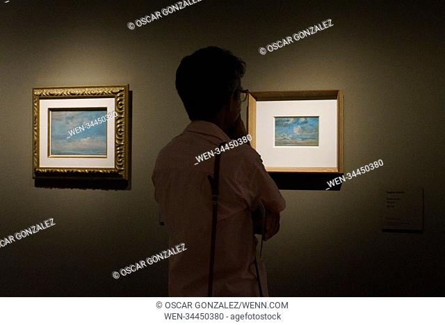 Monet / Boudin exhibition at the Thyssen-Bornemisza National Museum in Madrid, Spain Featuring: Atmosphere Where: Madrid