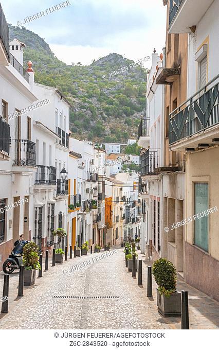 Ubrique, province of Cádiz, largest of the White Towns, Pueblos Blancos of Andalusia, Spain