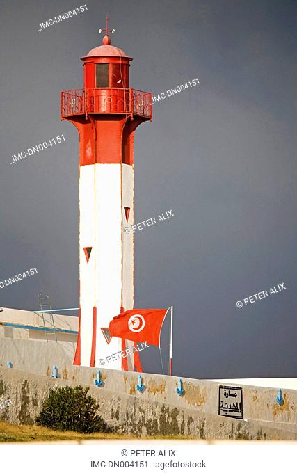 Tunisia, Mahdia, lighthouse