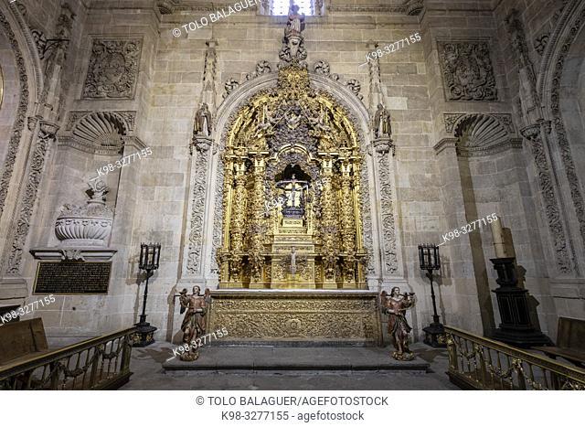 capilla de San Nicolas de Bari, Catedral de la Asunción de la Virgen, Salamanca, comunidad autónoma de Castilla y León, Spain