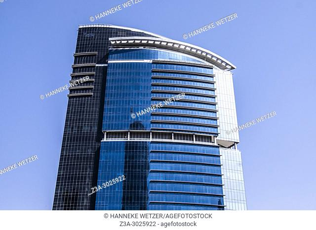Brand new modern architecture in Business Bay, a business capital as well as a freehold city in Dubai, United Arab Emirates
