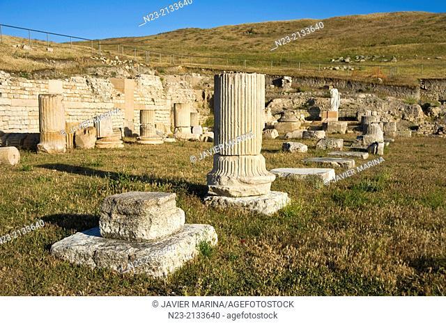 Roman city of Segobriga, Cuenca province, Castilla-La Mancha, Spain