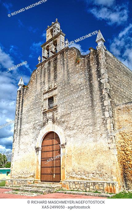 Colonial Church, late 16th Century, Yucatan, Mexico