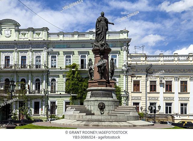 Statue Of Catherine The Great, Odessa, Ukraine