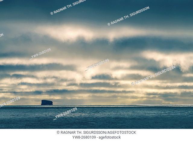 Eldey Island, Reykjanesta, Reykjanes Peninsula, Iceland