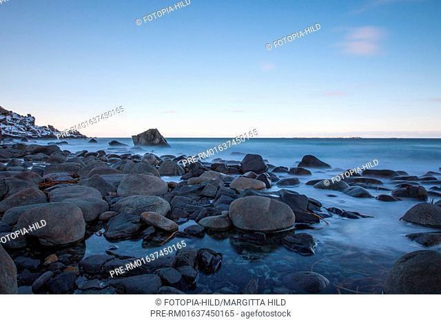 Utakleiv beach, Leknes, Vestvågøy, Vestvågøya, Lofoten, Nordland, Norway, March 2017 / Utakleiv Strand, Leknes, Vestvågøy, Vestvågøya, Lofoten, Nordland